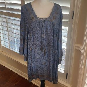 *REMOVING* Angie Tassel Tie Front Dress